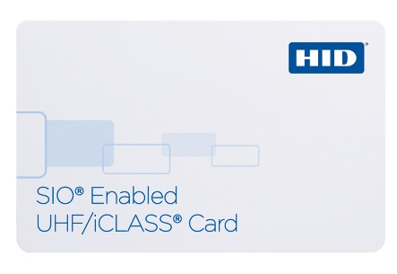 HID SIO Enabled UHF \ iCLASS 601x Card